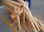 Drewno w zakładzie stolarskim