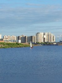 morze bałtyckie na pierwszym planie
